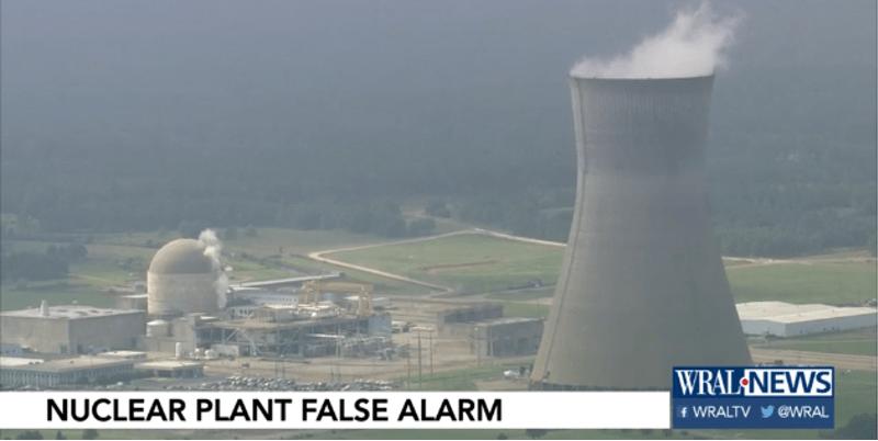 Ahora, alerta nuclear en Carolina del Norte (VIDEO)
