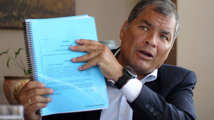 Fincan cargos al expresidente Correa