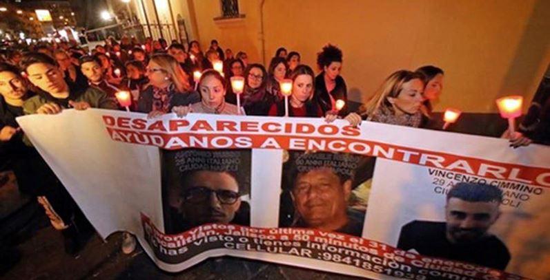 Italia protesta en las calles y en el estadio por secuestro de 3 napolitanos en Jalisco