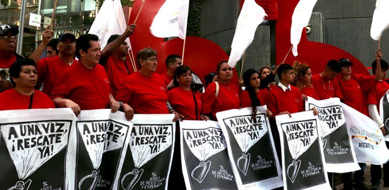 Líderes mineros ofrecen apoyar la candidatura de AMLO
