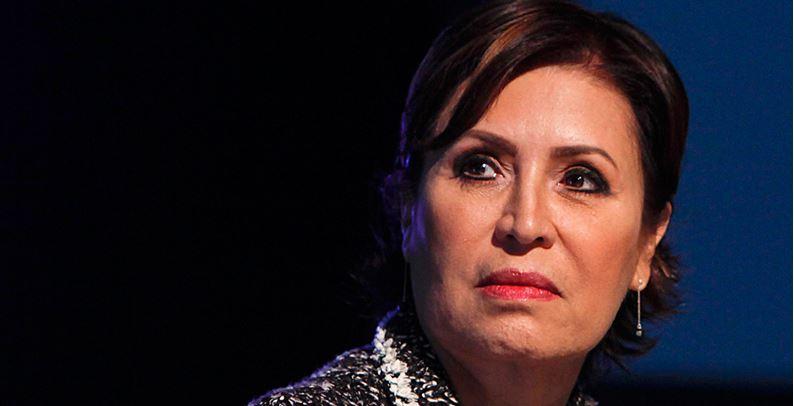 Rosario Robles, hundida en el descrédito total