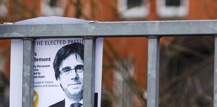 Alemania rechaza detener a Puigdemont