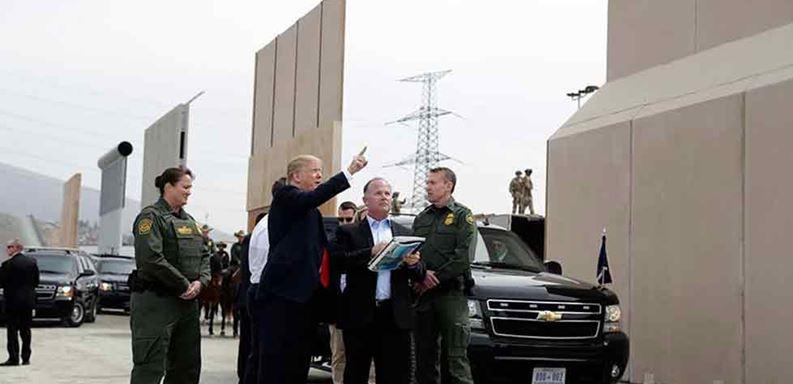 No he tocado tema de muro con Trump, afirma AMLO