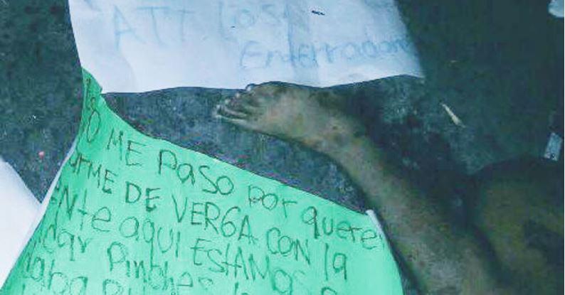 """Mutilan a ladrón en Acapulco, """"ya lo dijo El Bronco"""""""
