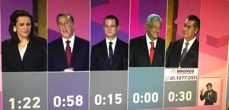El debate, de los más vistos en el país, pero menos que el de 1994
