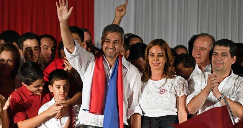 Candidato oficialista gana la presidencia en Paraguay