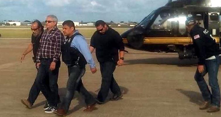 Extraditado de Italia, Yarrington llega a Texas para ser enjuiciado