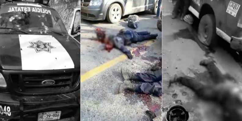 Difunden video de los policías atacados en Zihuatanejo