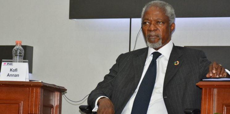"""Violencia, """"seria amenaza al proceso electoral de México"""": Kofi Annan"""