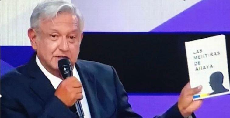 """Publica Morena el libro """"Las Mentiras de Anaya"""" anunciado por AMLO"""