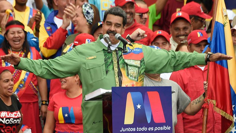 Maduro gana segundo mandato en las urnas
