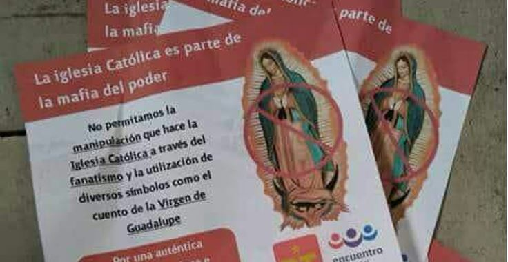 Usan a la Virgen Morena en la guerra sucia contra AMLO