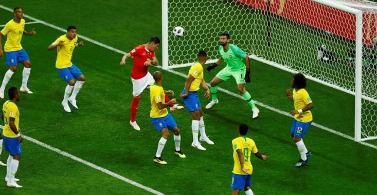 Brasil decepciona: Suiza le saca un empata a uno