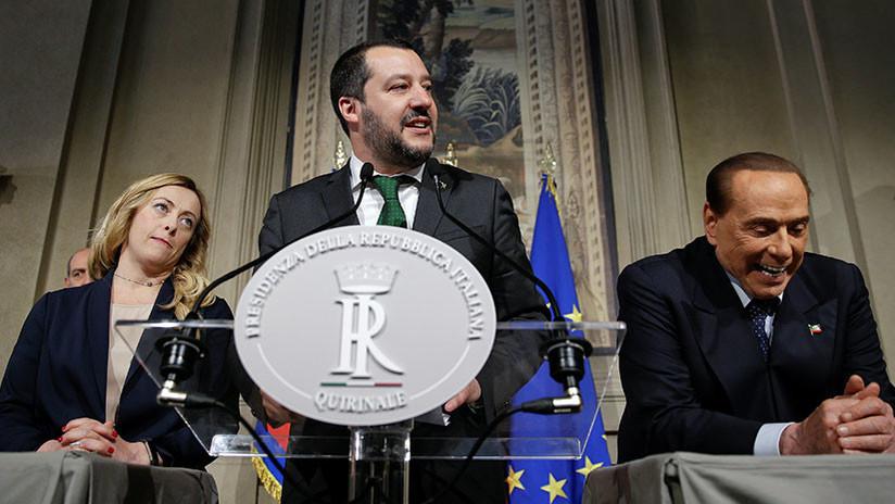 Italia pide a Europa levantar sanciones contra Rusia