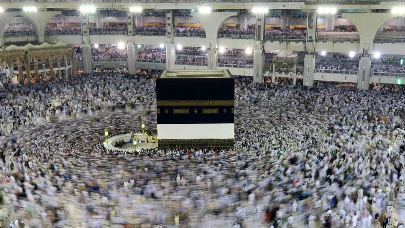 Musulmanes inician peregrinaje a La Meca