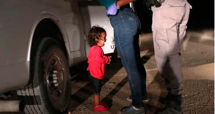 Icono de niños migrantes, nunca fue separada de su madre
