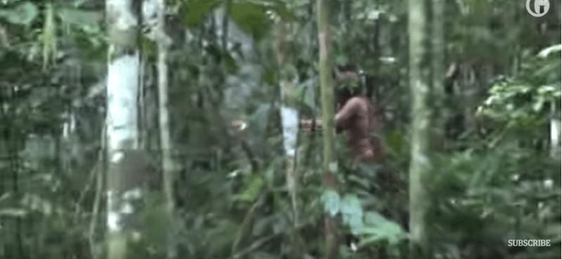 Captan a último sobreviviente de tribu amazónica (VIDEO)