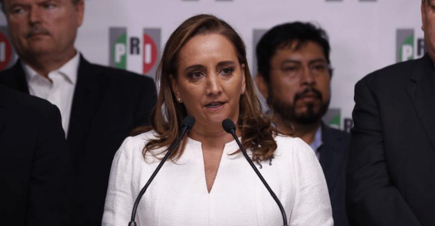 René Juárez deja dirigencia del PRI, al relevo Claudia Ruiz Massieu