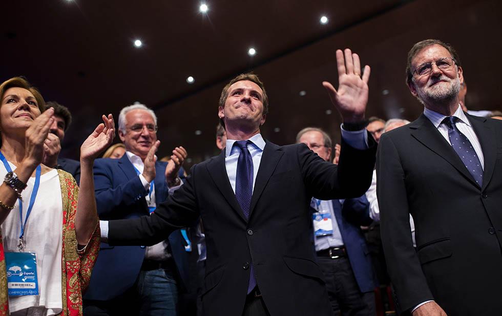 Pablo Casado, nuevo dirigente del PP en España