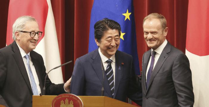 Europa y Japón firman tratado de libre comercio