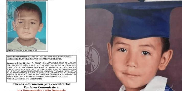 Hallan muerto a Rafita, el niño de 6 años desaparecido en Juárez