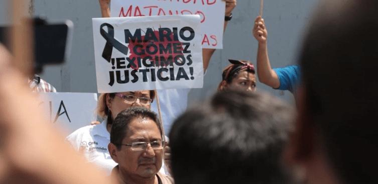 Marchan periodistas en Chiapas: Exigen justicia para reportero asesinado