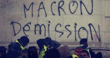 Macron declara emergencia económica en Francia
