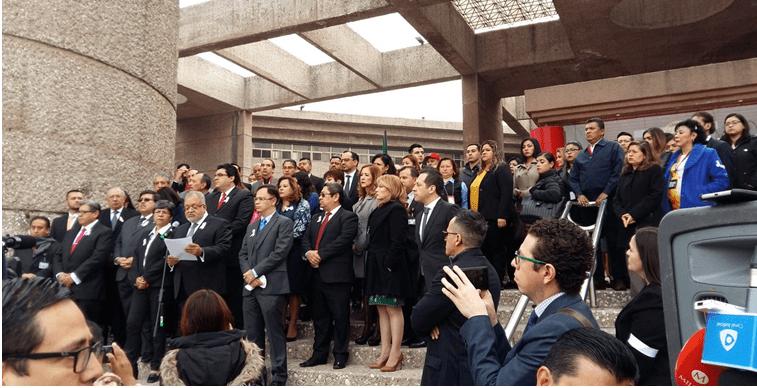 La Corte, magistrados y jueces acusan campaña de desprestigio