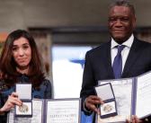 Los Nobel de la Paz exigen fin de la impunidad por violencia sexual