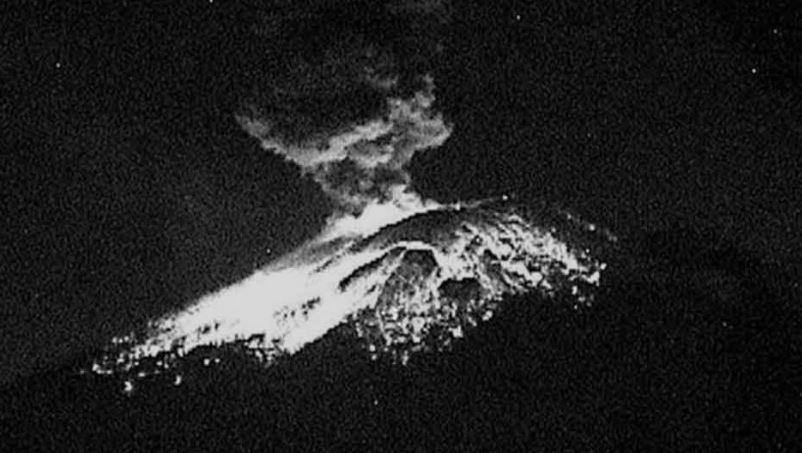 El volcán Popocatépetl registra una fuerte explosión (VIDEO)