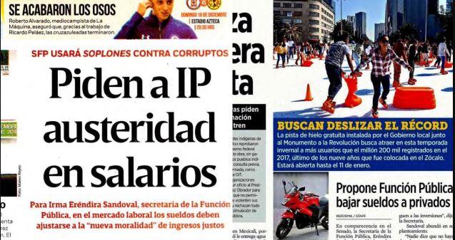 Acusa SFP 'fake news' que haya pedido a la IP bajar altos sueldos