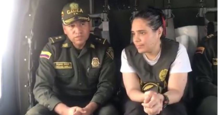 Rescatan a la sobrina de García Márquez