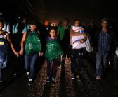 Sale otra caravana migrante, ahora de El Salvador
