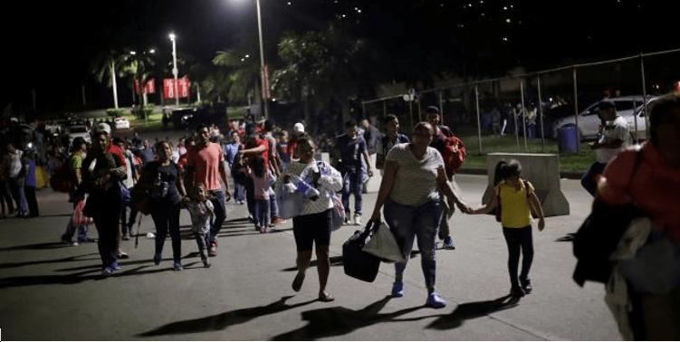 Apresan al organizador de nueva caravana migrante