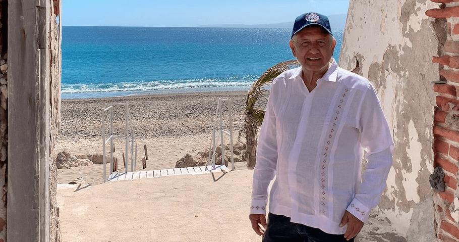 """AMLO visita las Islas Marías: """"dejará de ser prisión"""", anticipa"""