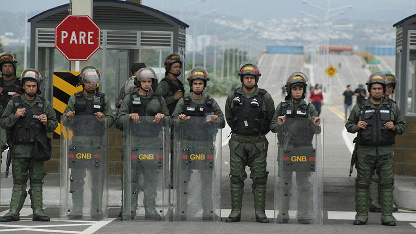 Cierra Venezuela la frontera con Colombia