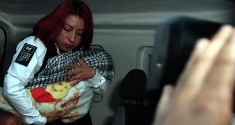 Recuperan en Nezahualcóyotl a la bebé robada y hay dos detenidos