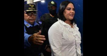 Culpable de corrupción, la exprimera dama de Honduras