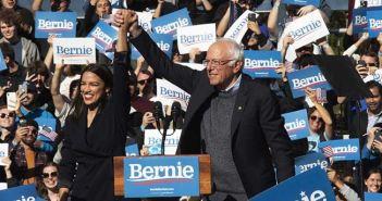 Bernie encabeza carrera demócrata a la Casa Blanca