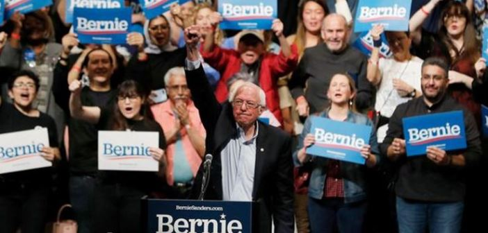 Bernie Sanders gana en Nevada, celebra en El Paso