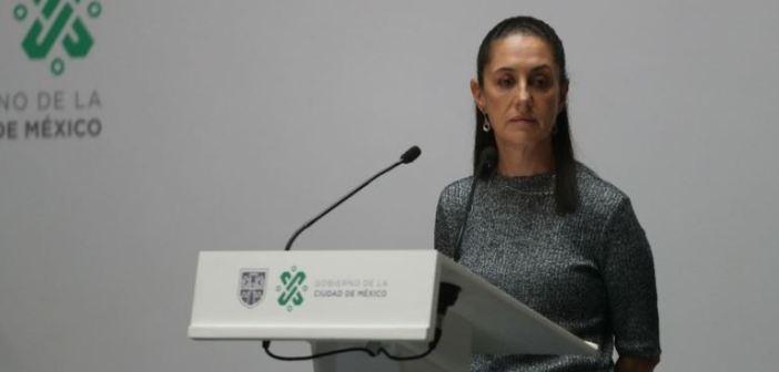Claudia Sheinbaum prevé alza de casos de coronavirus en la CDMX