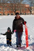 2009 Sledding in the Park