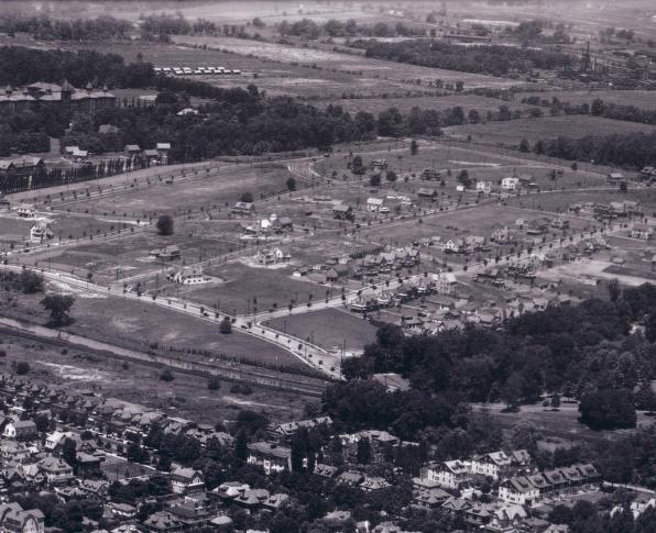 Hiltonia Aerial View Circa 1928