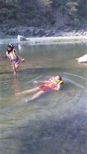 Floating kid