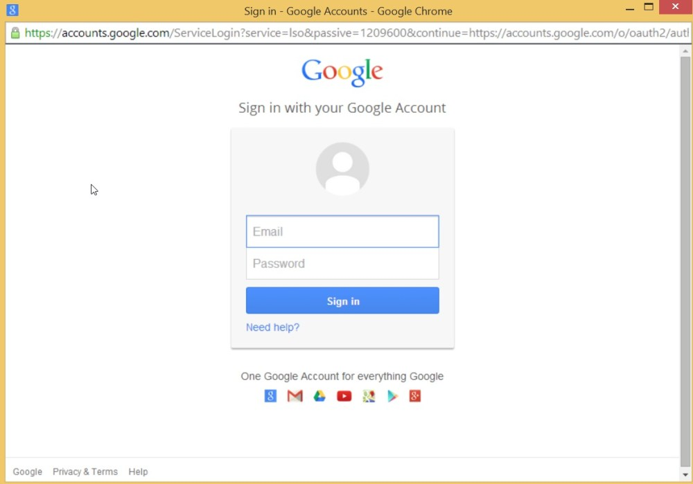 A Youtube Connector for Sitecore Media Framework Part 4 – Google Authentication (6/6)