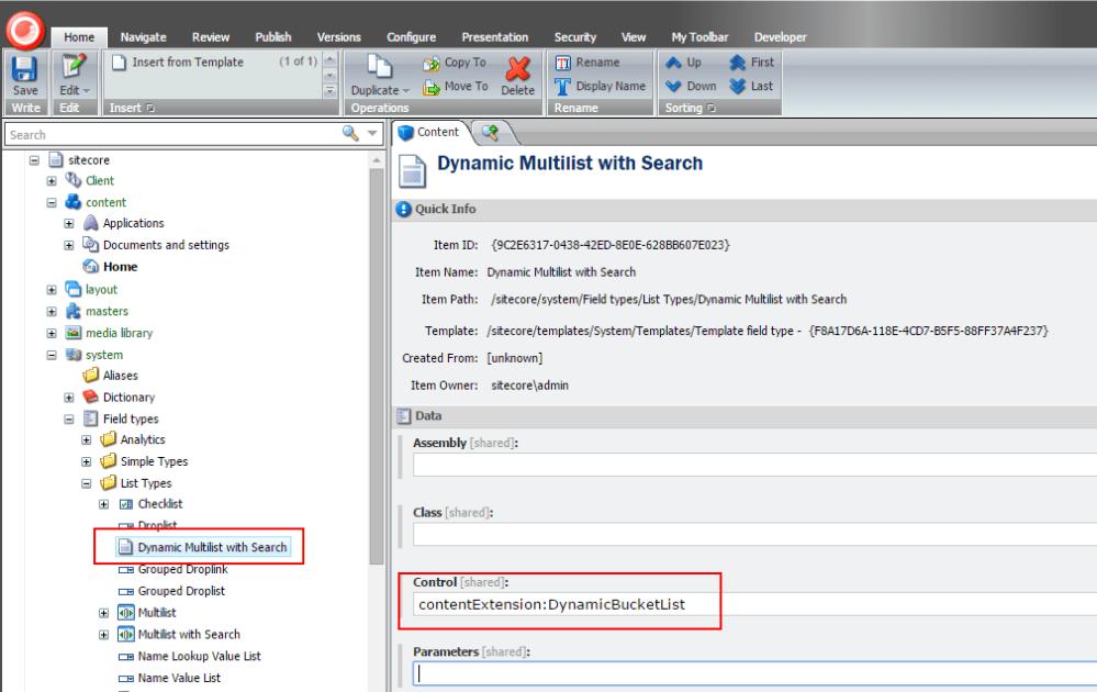 Dynamic Multilist with Search (1/2)