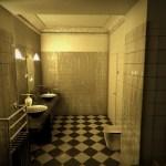 【バスルーム】恐怖の3Dホラーゲーム。まさかのフリーゲーム