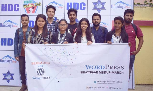 WordPress Training at Himalaya Darshan College