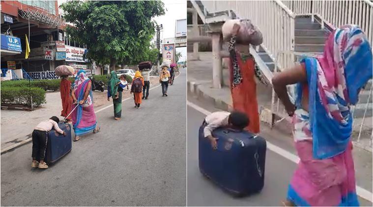 बालक सुटकेसमा सुतेर यात्रा गरेको घटनामाथी मानवअधिकारको 'मुद्दा'