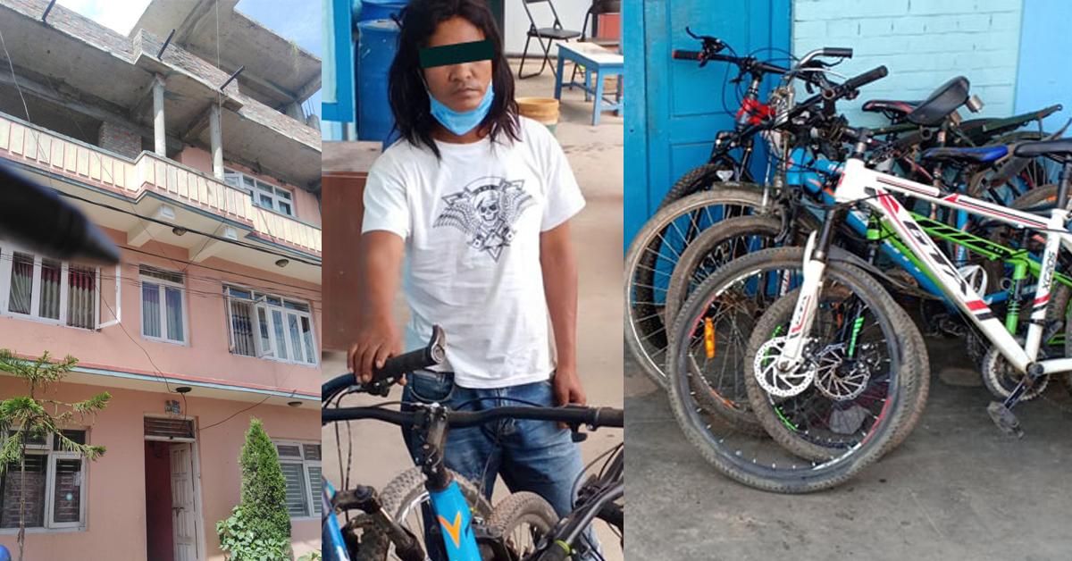 साइकल चोरेरै बनाए भक्तपुरमा तीन तले घर